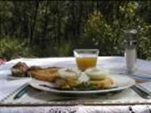Loaring Place Bed and                     Breakfast Australian Gourmet Breakfast Options