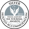Tourism                       WA Hosted Accommodation Silver Medal for Loaring                       Place B&B