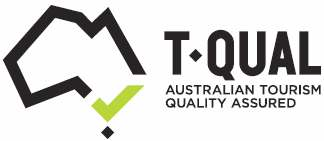 T-Qual                     Logo Australian Tourism Quality Assured for Loaring                     Place B&B